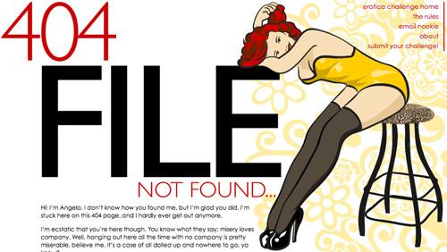 创意404页面-5