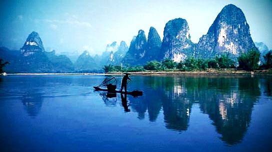 LOMO锐利:桂林山水