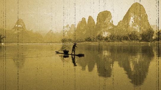 相片老化2:桂林山水