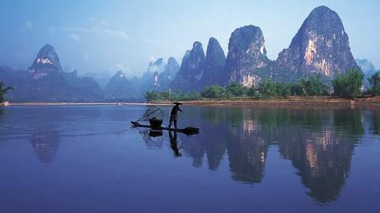 原图:桂林山水
