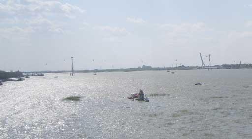 哈尔滨·久违的松花江