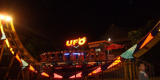 欢乐时光中的UFO