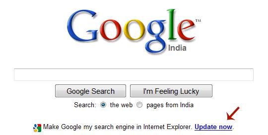 Google 首页放 .exe 文件