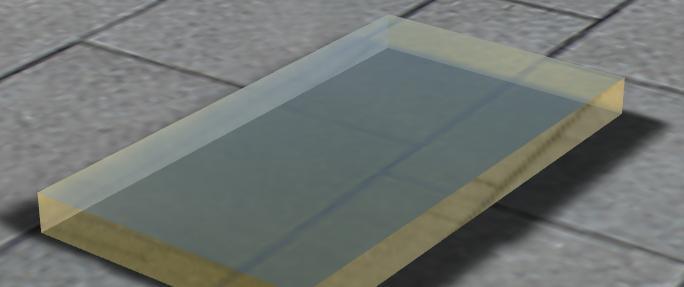 在Alias中简单的一个方体用上Showcase的材质,都这么好看