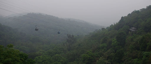 白云山·俯瞰缆车